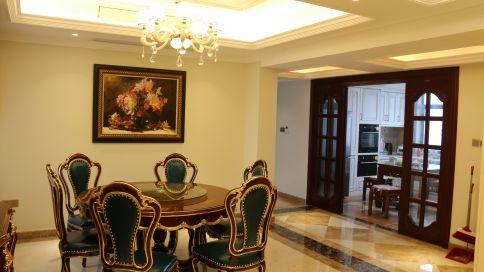 武汉欧式风格复式装修设计效果图 肖宅装饰工程