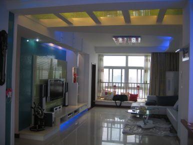 武汉现代风格三房装修设计 罗宅装饰工程