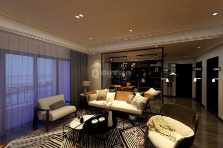 重庆保利高尔夫华庭|四居室|港式风格装修|实景案例图