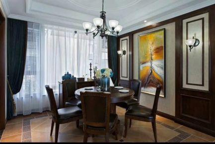 重庆美式风格三房装修  美式风格家庭装修效果图