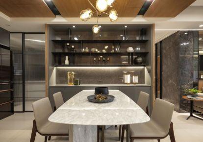 宁波现代风格三房装修设计 现代风格家庭装修效果图