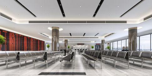 重庆1200平办公室装修设计 现代风格办公室装修效果图