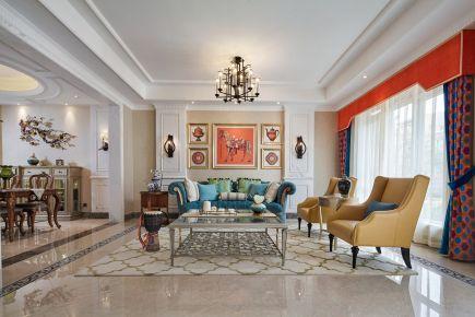 佛山美式风格四房装修效果图欣赏 摩登美式风格装修