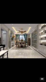 扬州名门一品 欧式风格复式楼装修设计