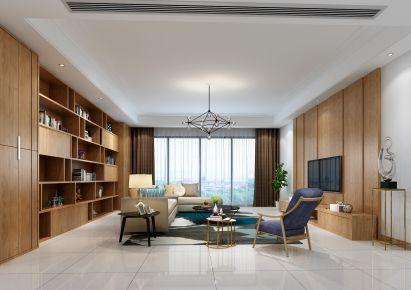 佛山现代风格四房装修设计 现代风格家庭装修效果图
