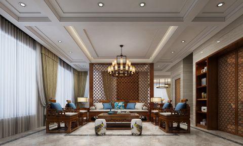 佛山中式风格别墅装修设计 中式别墅装修效果图欣赏