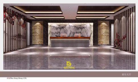 禅意东方,中式办公室装修设计效果图欣赏