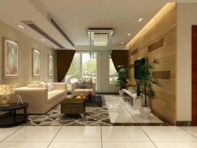 扬州金地艺境 现代风格三房装修设计效果图