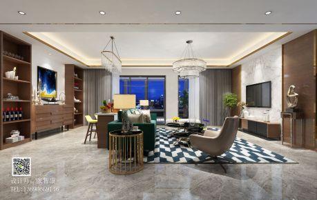 佛山港式风格四房装修设计 港式风格室内装修效果图