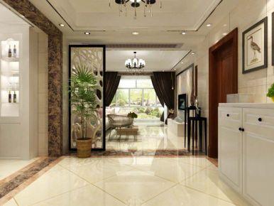 扬州华鼎新城 现代风格三房装修设计欣赏