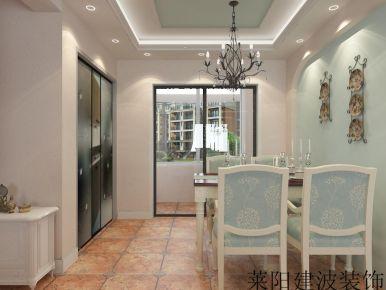 烟台美式风格家庭装修效果图 美式风格室内装修设计