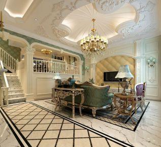 西安法式风格别墅装修 天鹅堡法式风格别墅装修设计