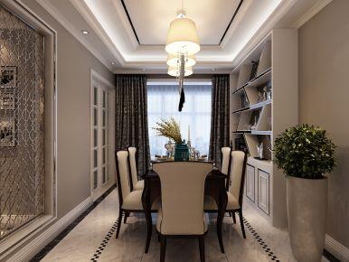 西安曲江紫汀苑173平米现代风格装修