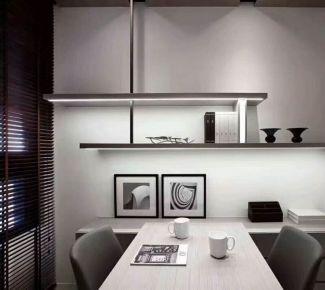 绍兴简约风格四房装修设计效果图 简约风格家庭装修