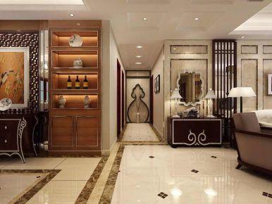 西安新中式风格家庭装修设计 新中式风格三房装修效果图