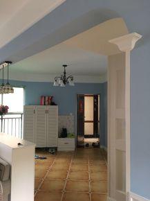 佛山翠林豪庭 田园风格三房装修设计欣赏