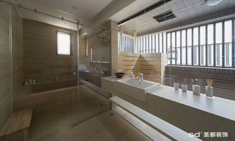 绍兴极简风格四房装修设计 极简风格家庭装修效果图