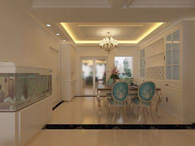 济南现代风格三房装修 华港城现代家庭装修效果图