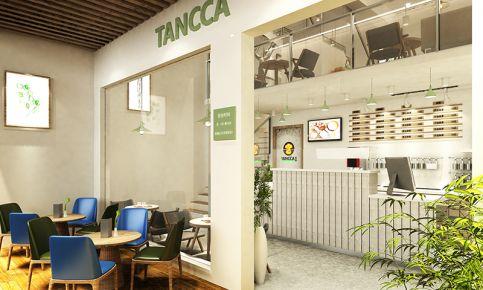 【连锁】叹咖茶饮店装修设计 茶饮店创意装修设计欣赏