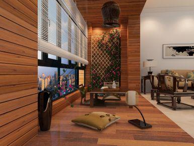 佛山阳台小角 创意混搭风格三房装修设计