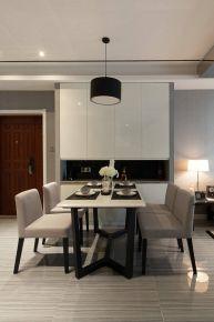 中山90平现代简约风家装 现代简约两房装修效果图