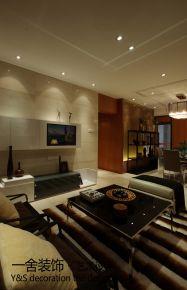 徐州现代风格三房装修设计效果图 严先生的家