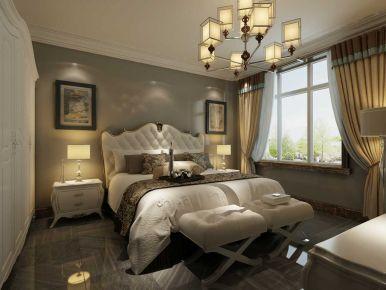 御龙湾三房装修设计 欧式风格三房装修效果图欣赏