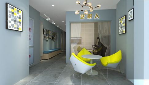 北京来广营现代风格琴房装修效果图欣赏