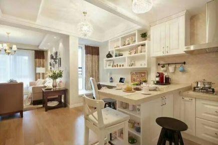 哈尔滨群力家园小区简约风格两房装修设计