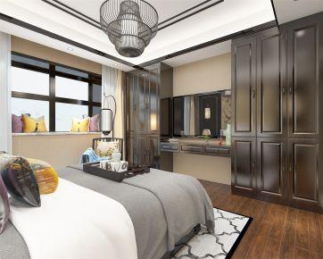 郑州中式风格三房装修设计 中式风格家装效果图欣赏