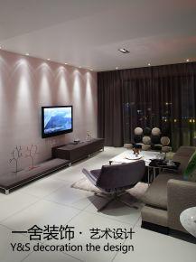 徐州简约风格单身公寓装修  简约风格三房装修效果图