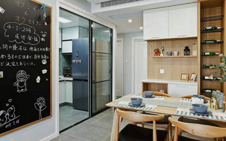 哈尔滨红星城小区北欧风格家庭装修设计
