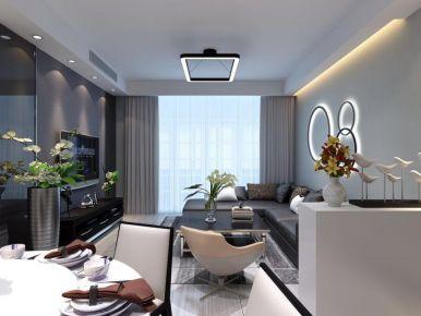 中山市现代风格三房装修设计 现代风格家庭装修效果图