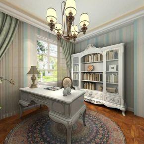 西安欧式风格三房装修 水半湾欧式风格家庭装修效果图