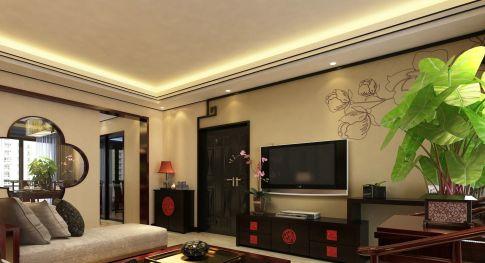 130㎡三房新中式风格装修 尽显典雅气质