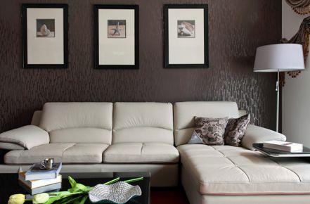 旋律音符打造140平幸福大三居装修设计欣赏