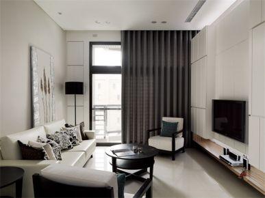武汉东原启城100平现代两居室装修效果图欣赏