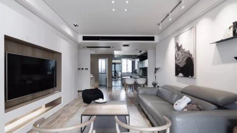 重庆香漫林现代风格两居室装修效果图