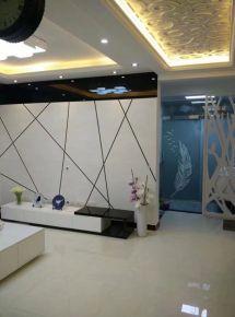 武湖汉北大全景三居室现代风格装修案例