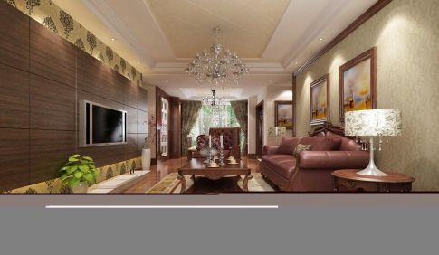 惠州欧式风格四房装修设计效果图