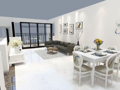 佛山简约风格三房设计 简约风格家庭装修效果图