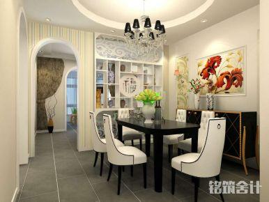 西安高科朗山现代三居室装修效果图