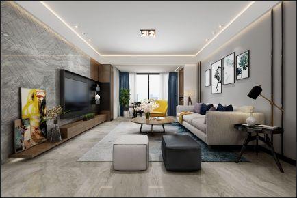佛山现代风格三房装修设计 鸿安现代三房装修