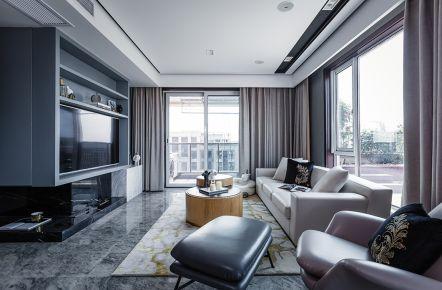 无锡欧式风格三房装修设计 金科世界城家庭装修效果图