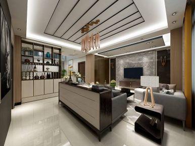 佛山现代简约三房装修设计 现代风格家装效果图