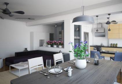 佛山出租房装修设计 现代风格两房装修效果图