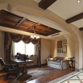 苏州简约舒适的美式家装设计欣赏