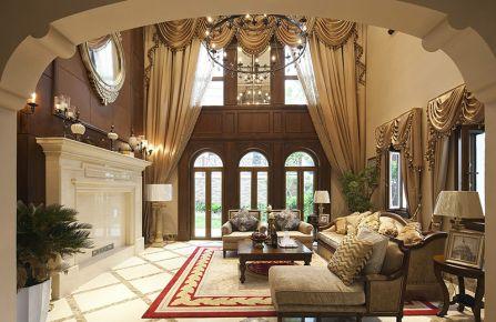 温馨大气的美式别墅装修效果图