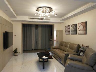 扬州双击元中式风格三居室装修效果图