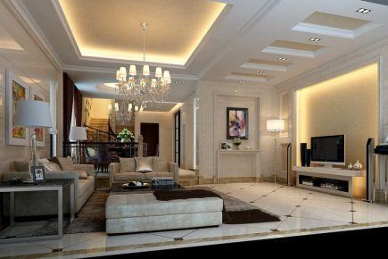 珠海招商花园欧式四居室装修效果图